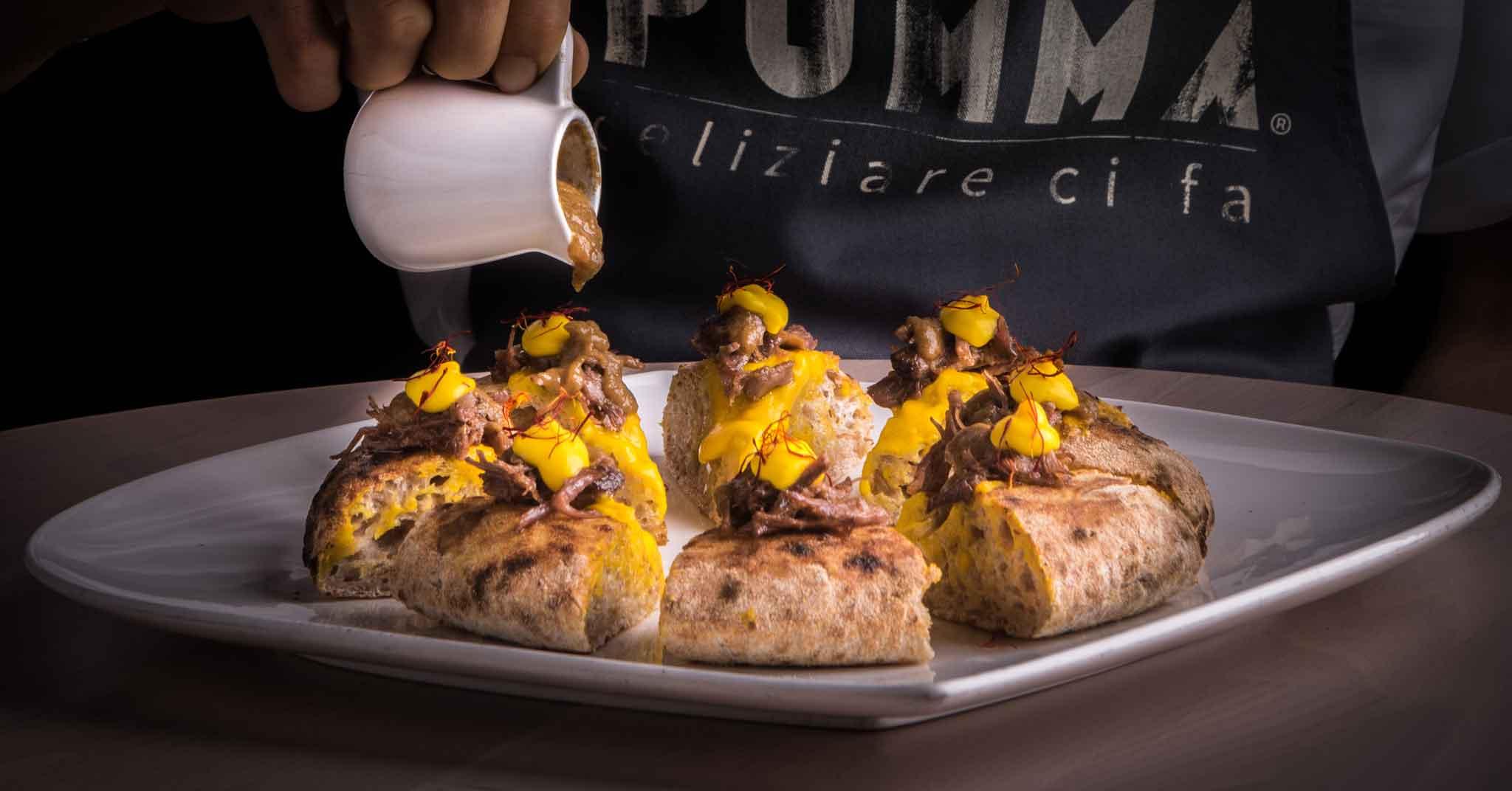 Milano. La nuova pizzeria Pummà che apre con la pizza all'ossobuco in Sant'Ambrogio