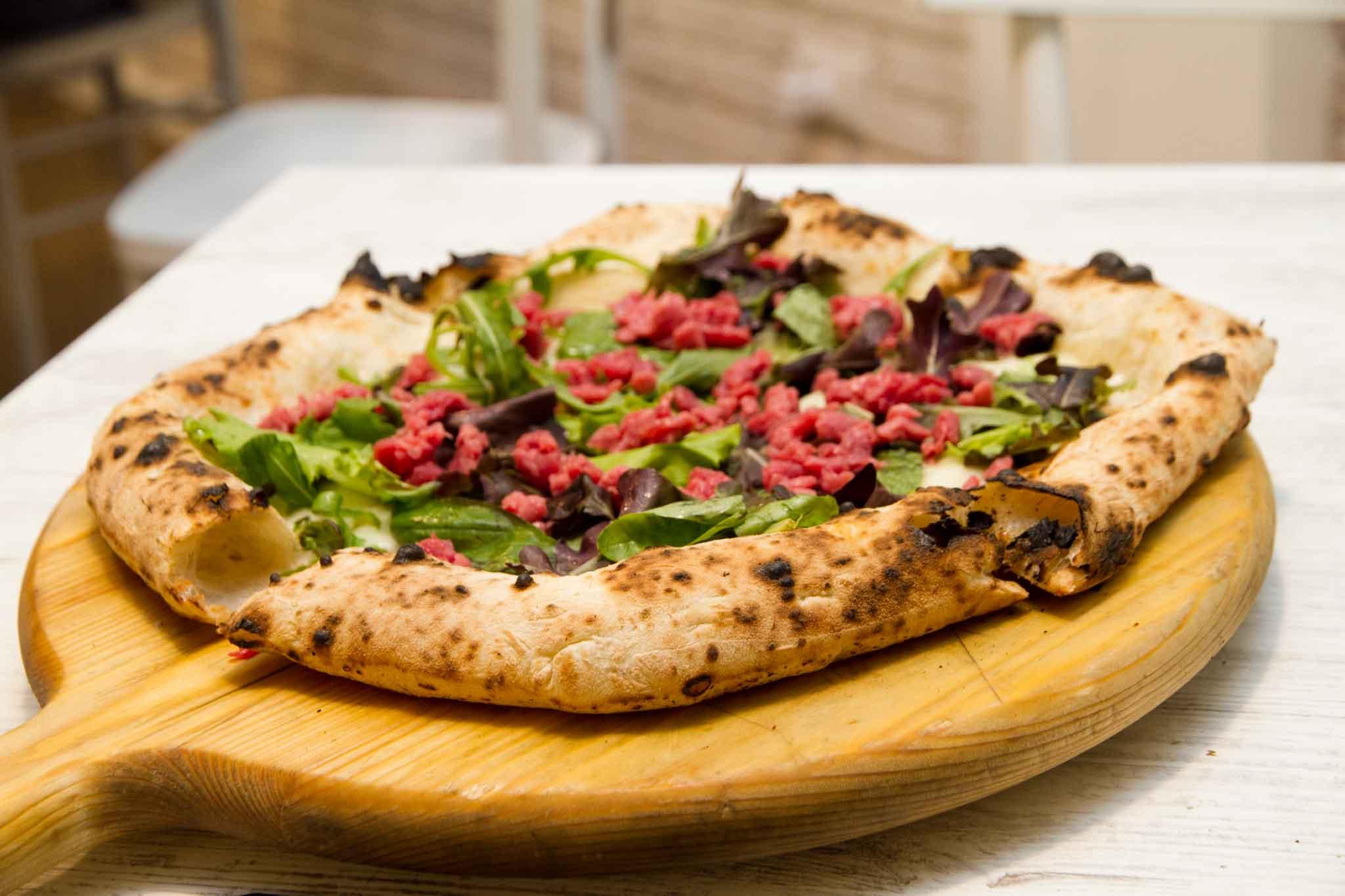 pizza misticanza Martucci Francesco Masanielli