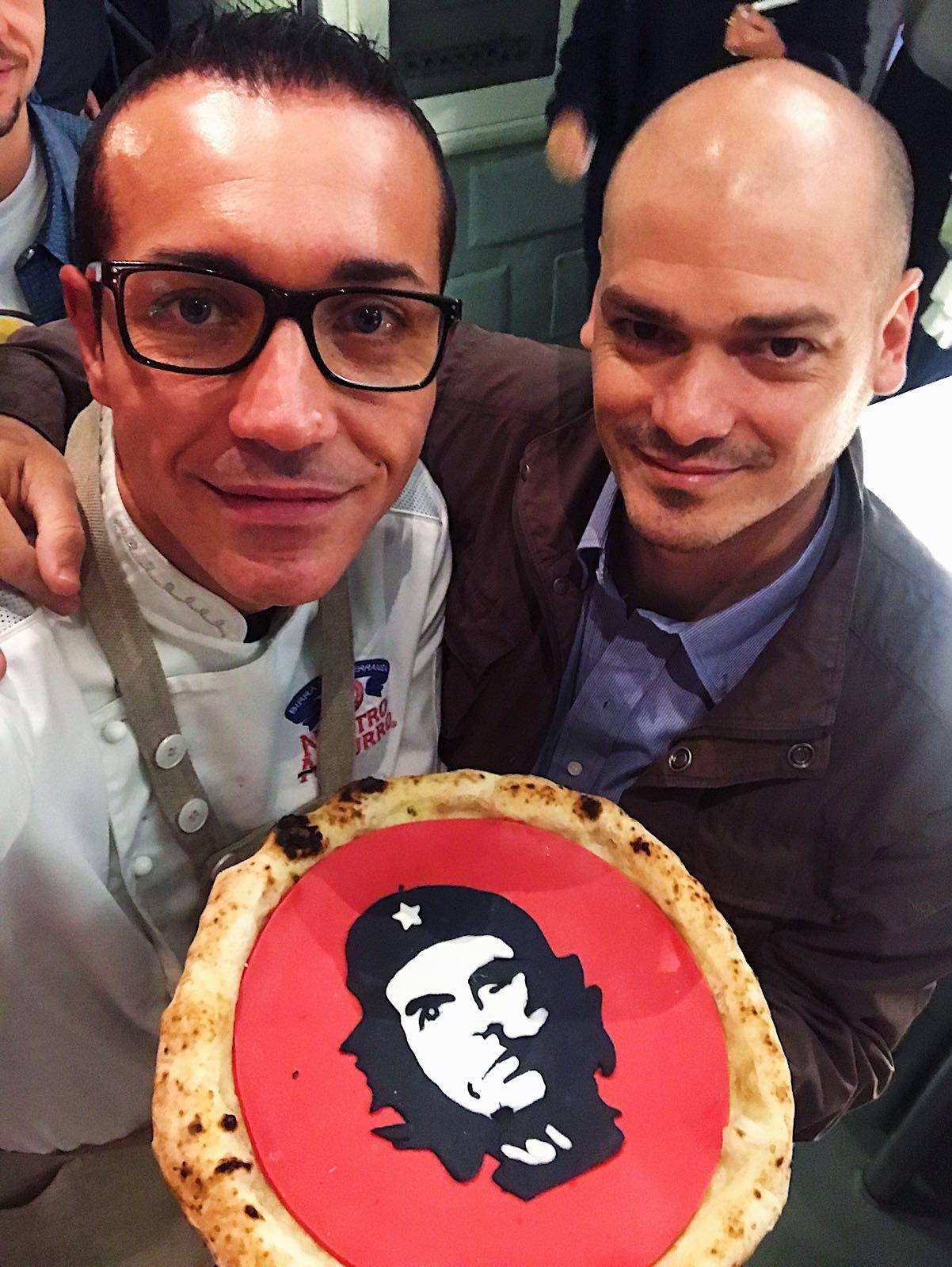 Gino Sorbillo e fratello Che Guevara