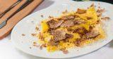 Ricetta. Ravioli con ricotta, funghi porcini e tartufo bianco