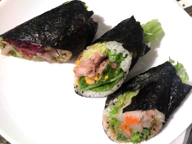 Fusho sushi branzino gamberi maiale