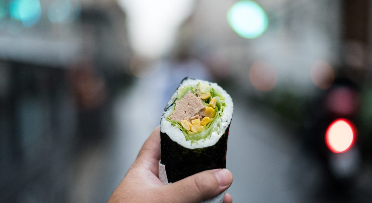 Milano. Fusho che ha aperto con il sushi fusion tex,mex in Paolo Sarpi