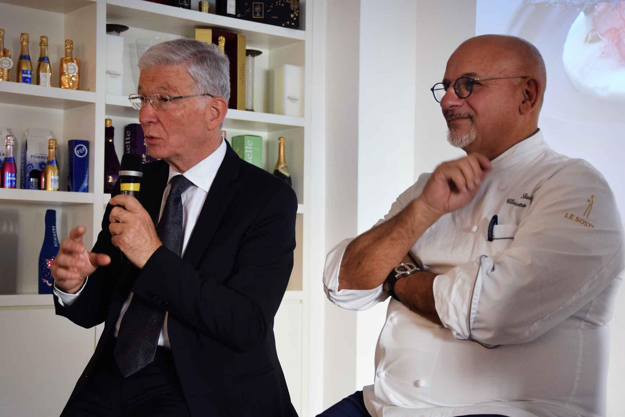 Mario Cucci di Mediavalue e Claudio Sadler
