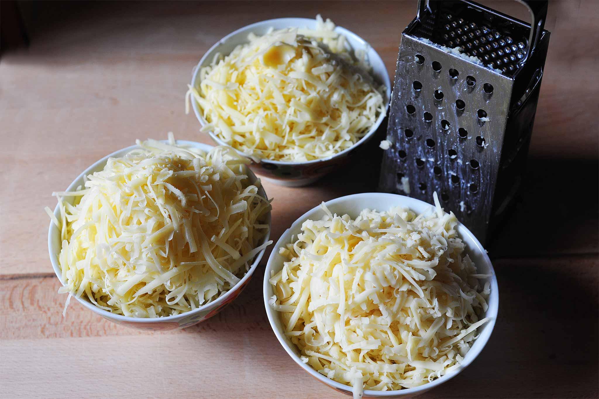 formaggio grattugiato