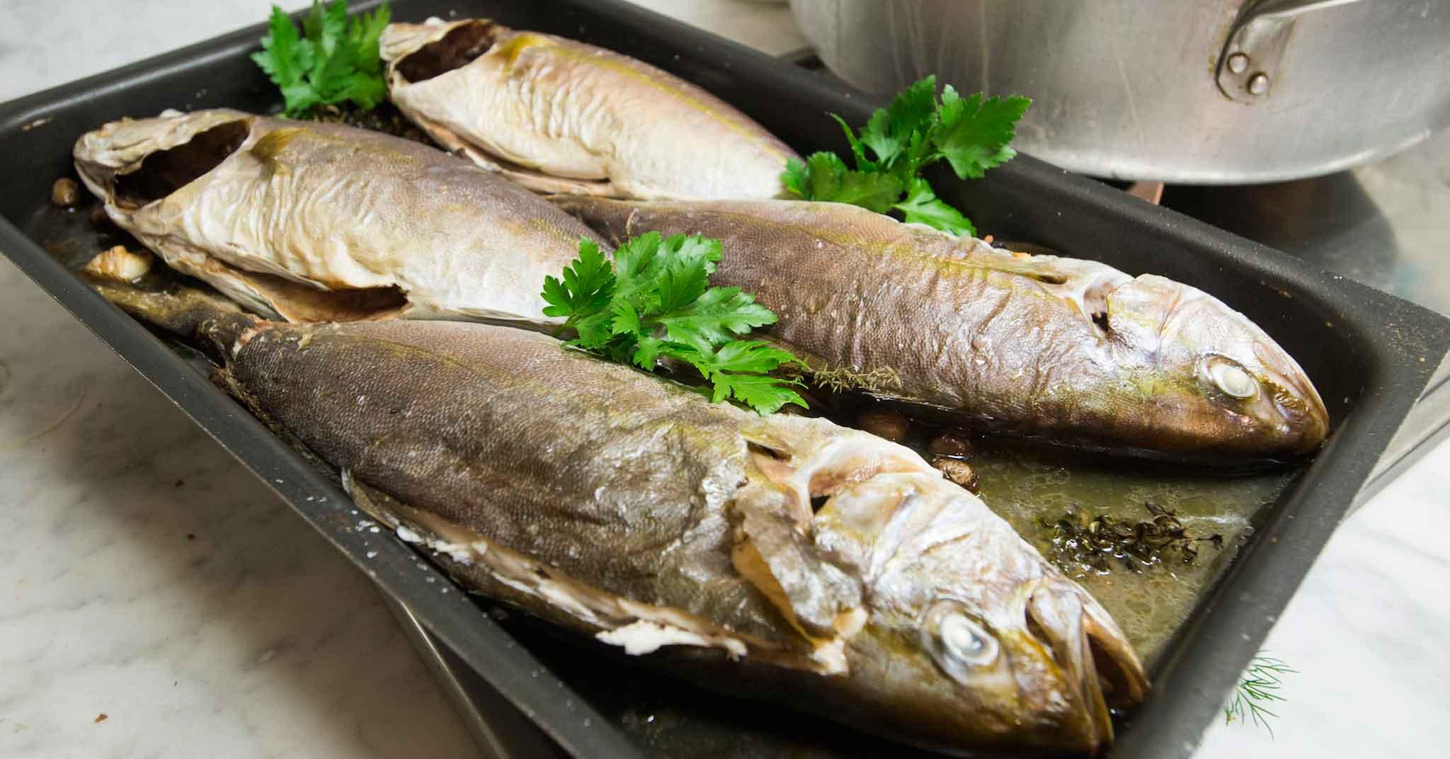 pesce a casa: cottura