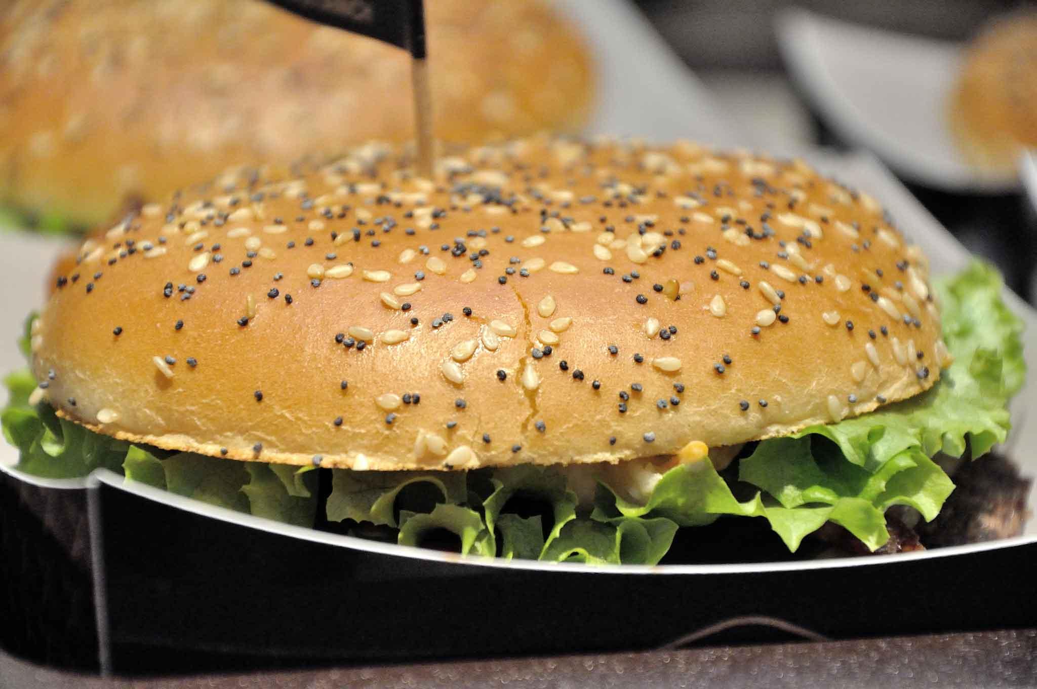 hamburger mcdonald's Maximo