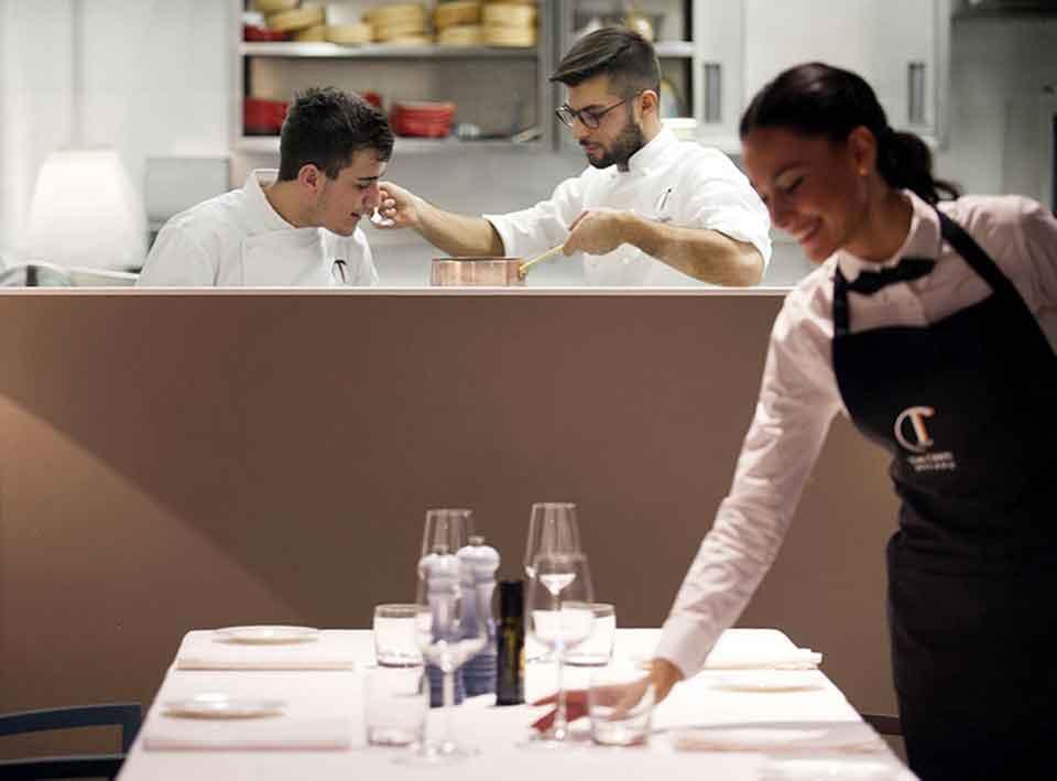 Milano scoprire la cucina di dario pisani ai tre cristi - Alma scuola cucina costo ...