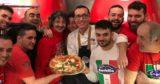 Pizza. Gino Sorbillo ritorna alla normalità con Elio e Le Storie Tese
