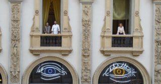 Milano. L'occhio di Cracco vi guarda in Galleria