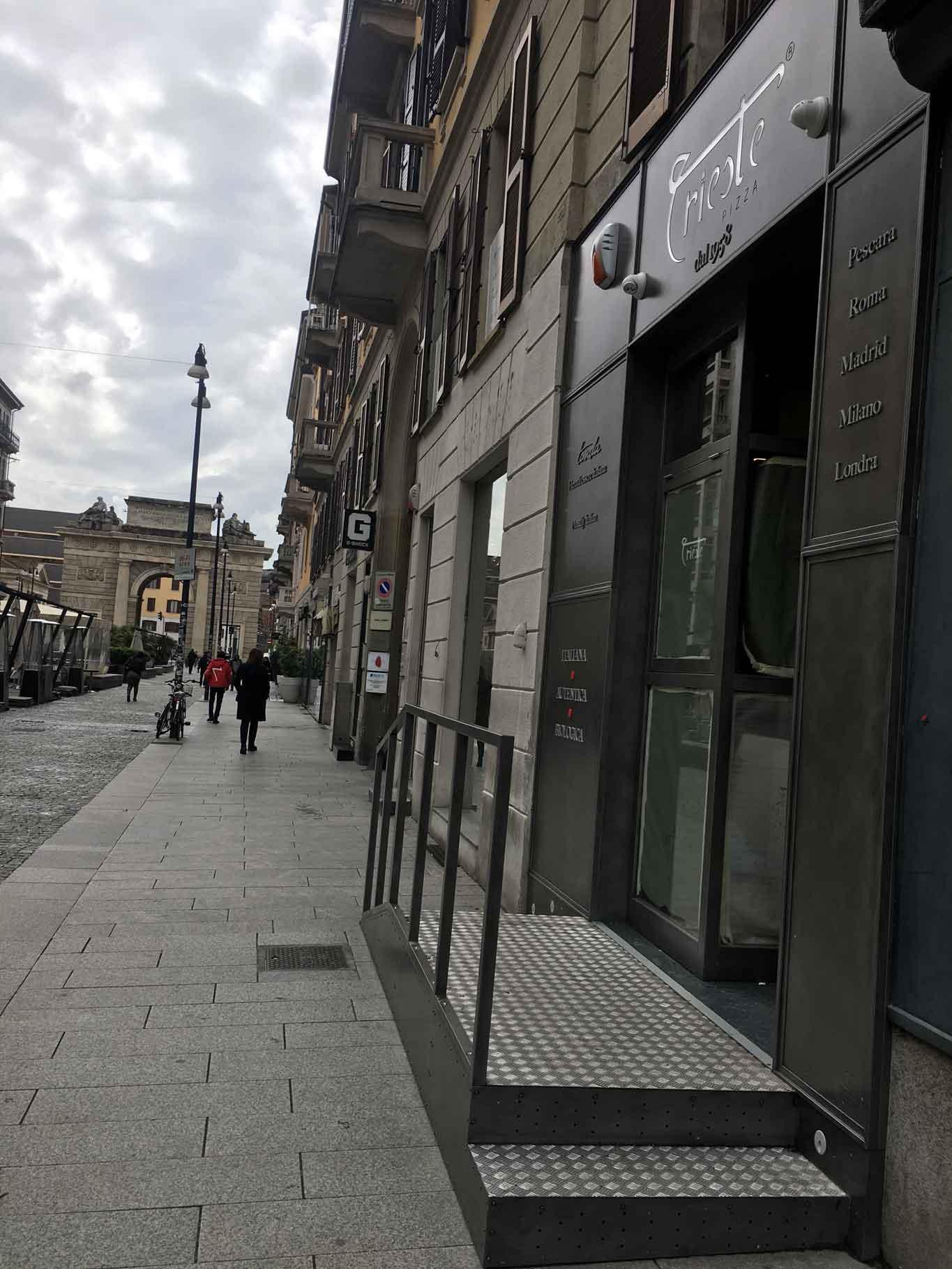 Milano menu e prezzi di trieste pizza che apre in corso como for Corso stilista milano