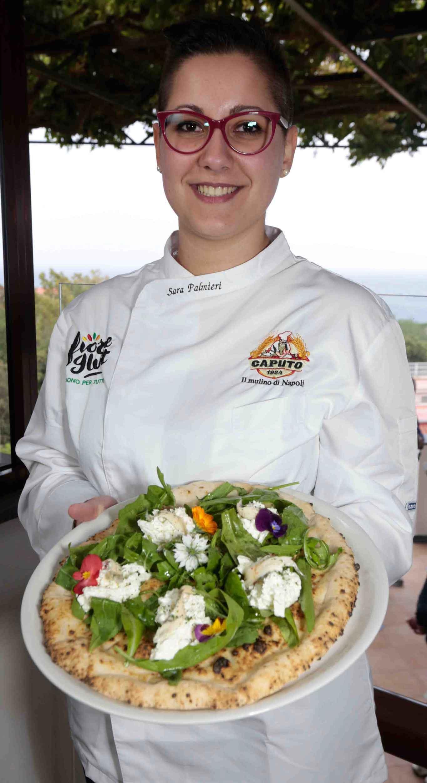 Sara Palmieri pizzaiola