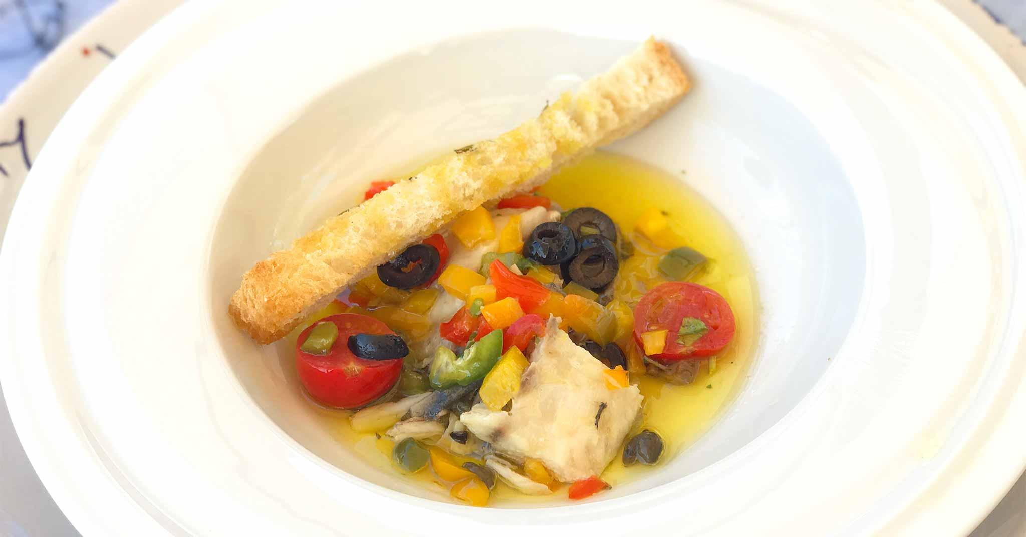 Abruzzo Trabocco Pesce Palombo Per Mangiare Unottima Cucina Di Mare