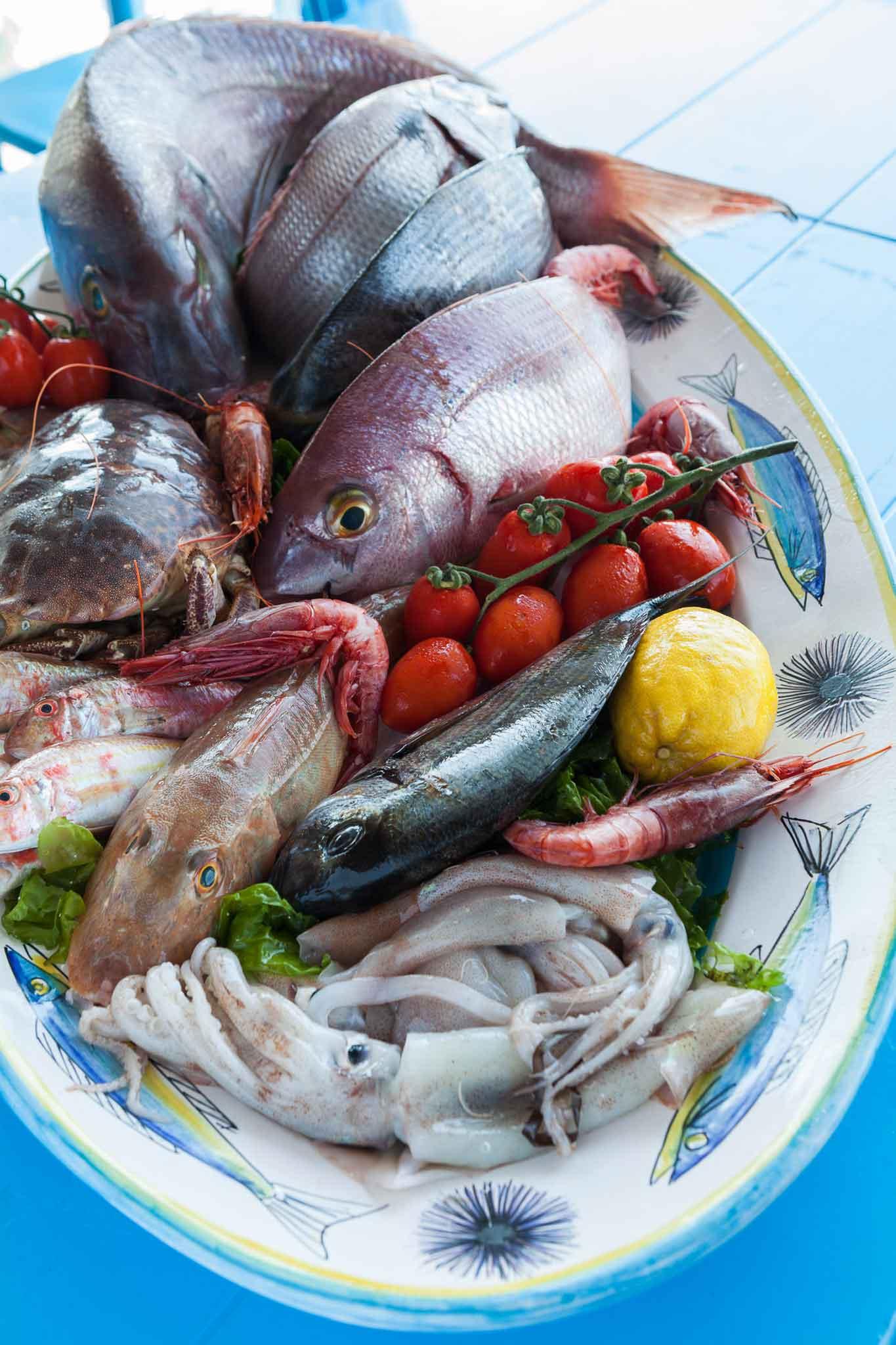 Riccio ristorante Capri pesce fresco