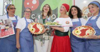 Margherita, la pizza con il volto di donna che combatte il femminicidio
