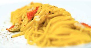 Ricetta d'estate. Spaghetti con fasolari e bottarga a cottura passiva