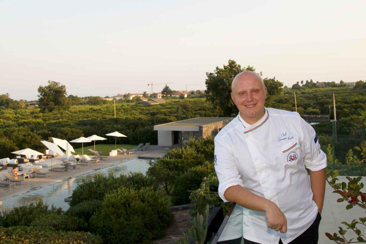 Giuseppe Raciti chef Zash