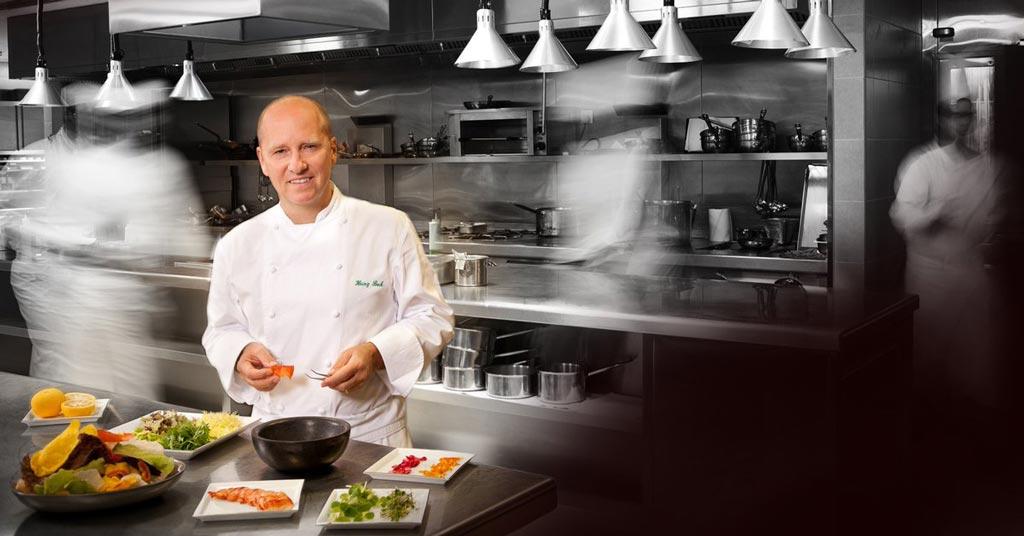 Heinz Beck, chef de La Pergola all'hotel Cavalieri Hilton