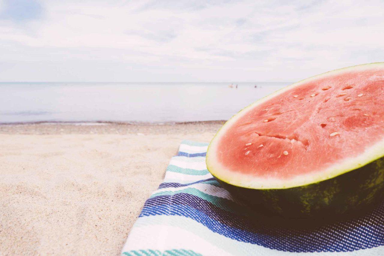 Dieta da spiaggia anguria