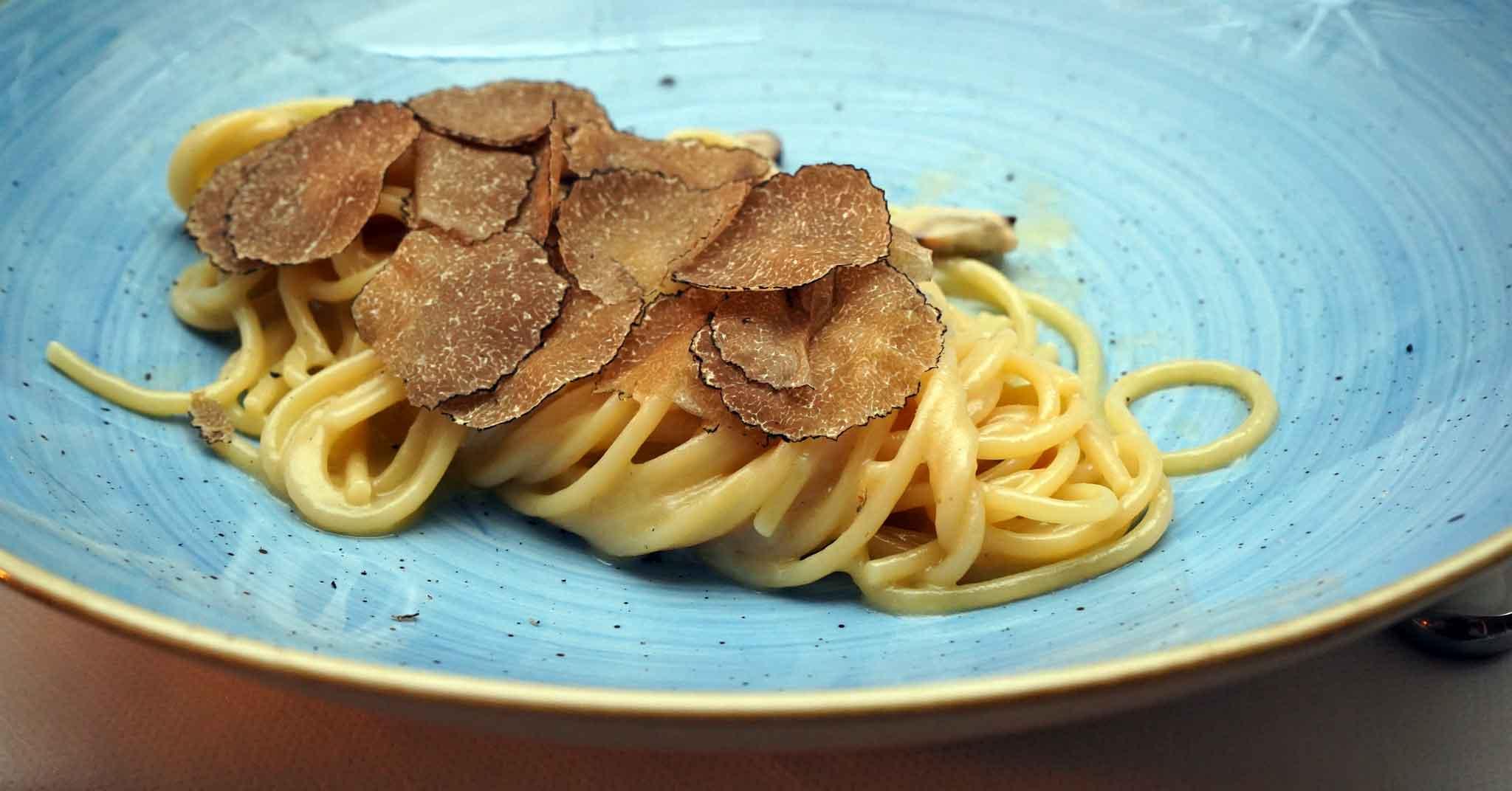 spaghetti cacio e cozze il veliero