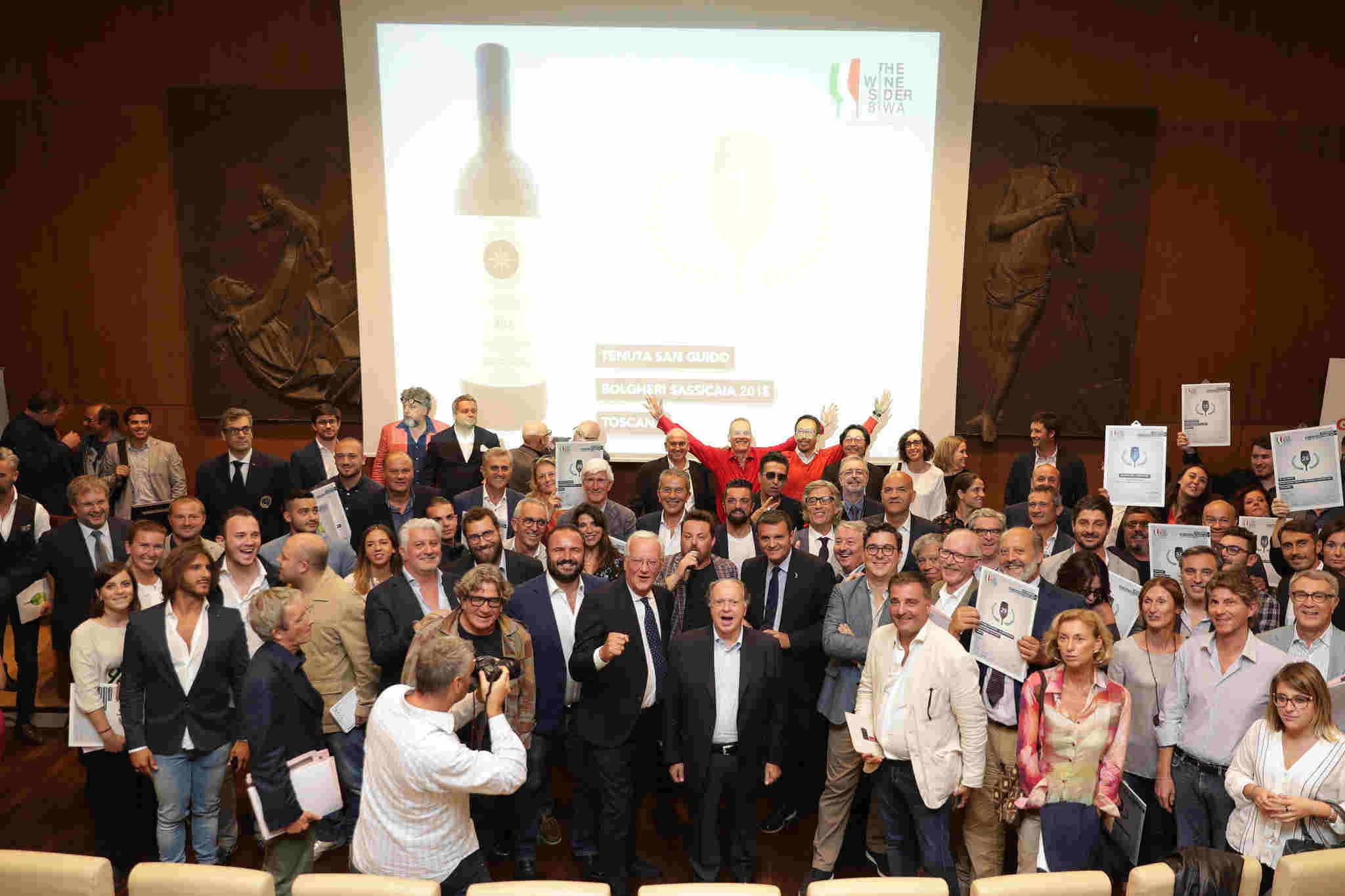 Il Sassicaia è il migliore dei 50 vini della Best Italian Wine Awards 2018