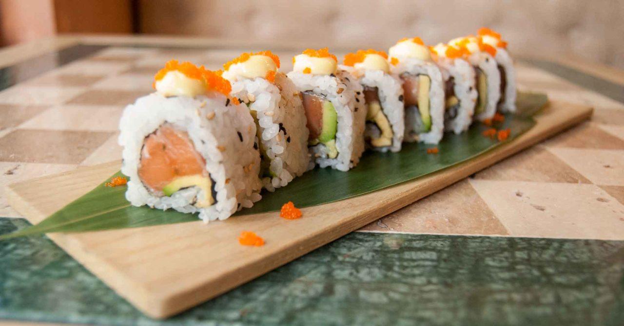 the gipsy bar roma sushi uramaki