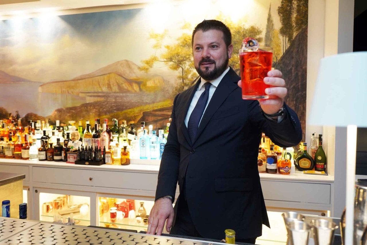 cocktail Lucio D Orsi Terrazza Dry Martini Sorrento
