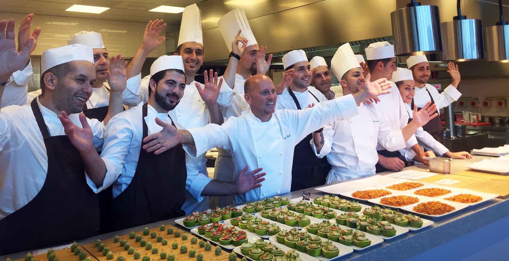Milano. Da Heinz Beck al pranzo stampa per conoscere menu e ...