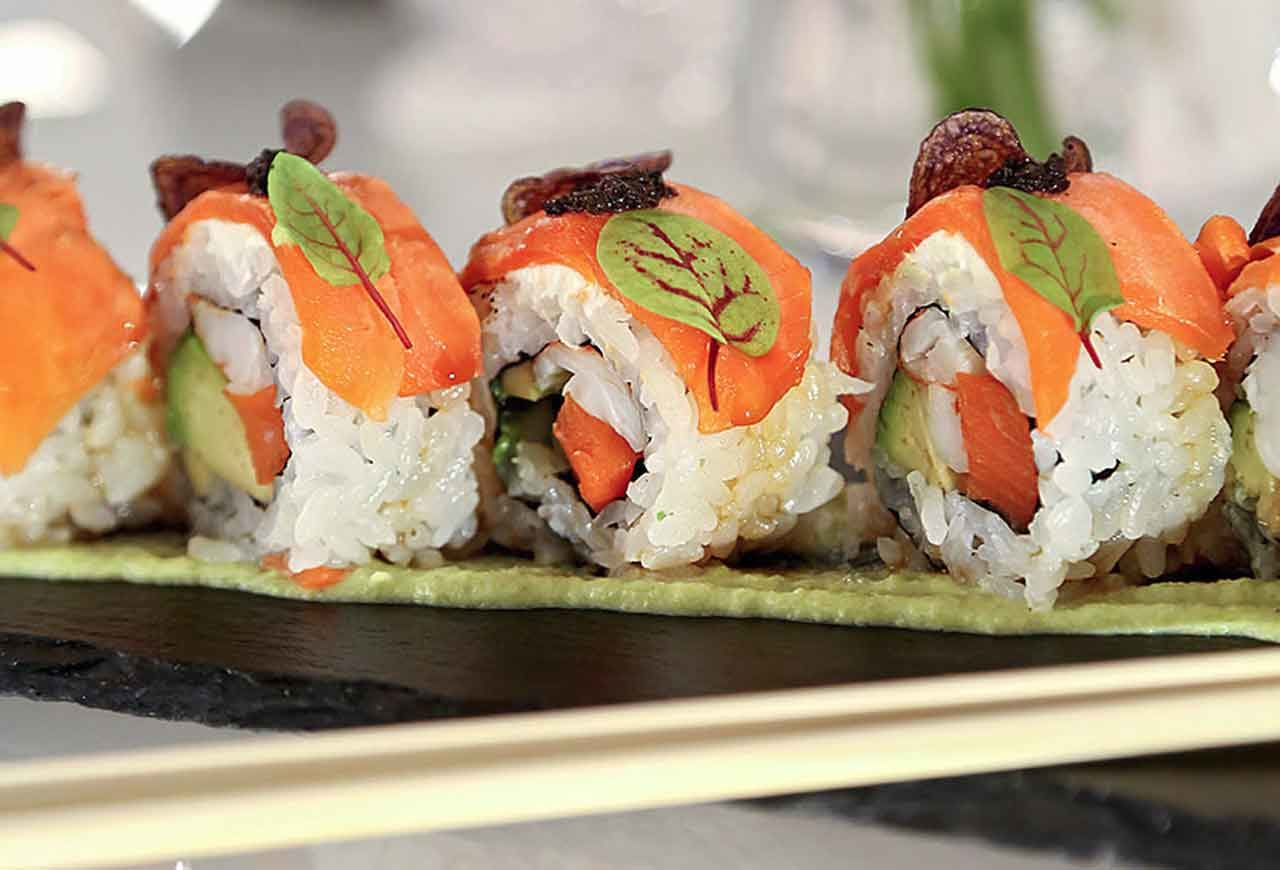 sushi Mame Ostrichina Napoli