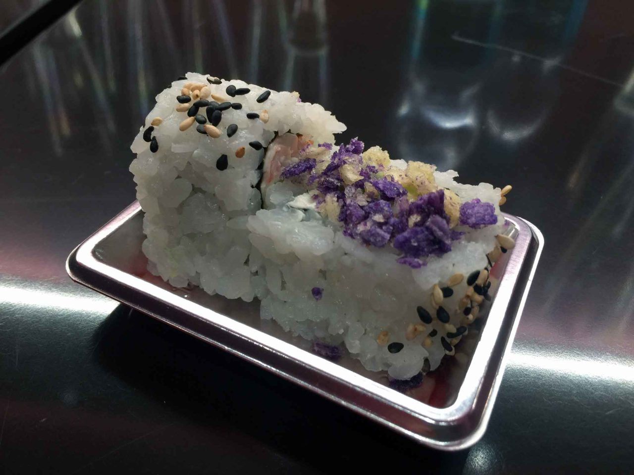 this is not a sushi bar assaggio