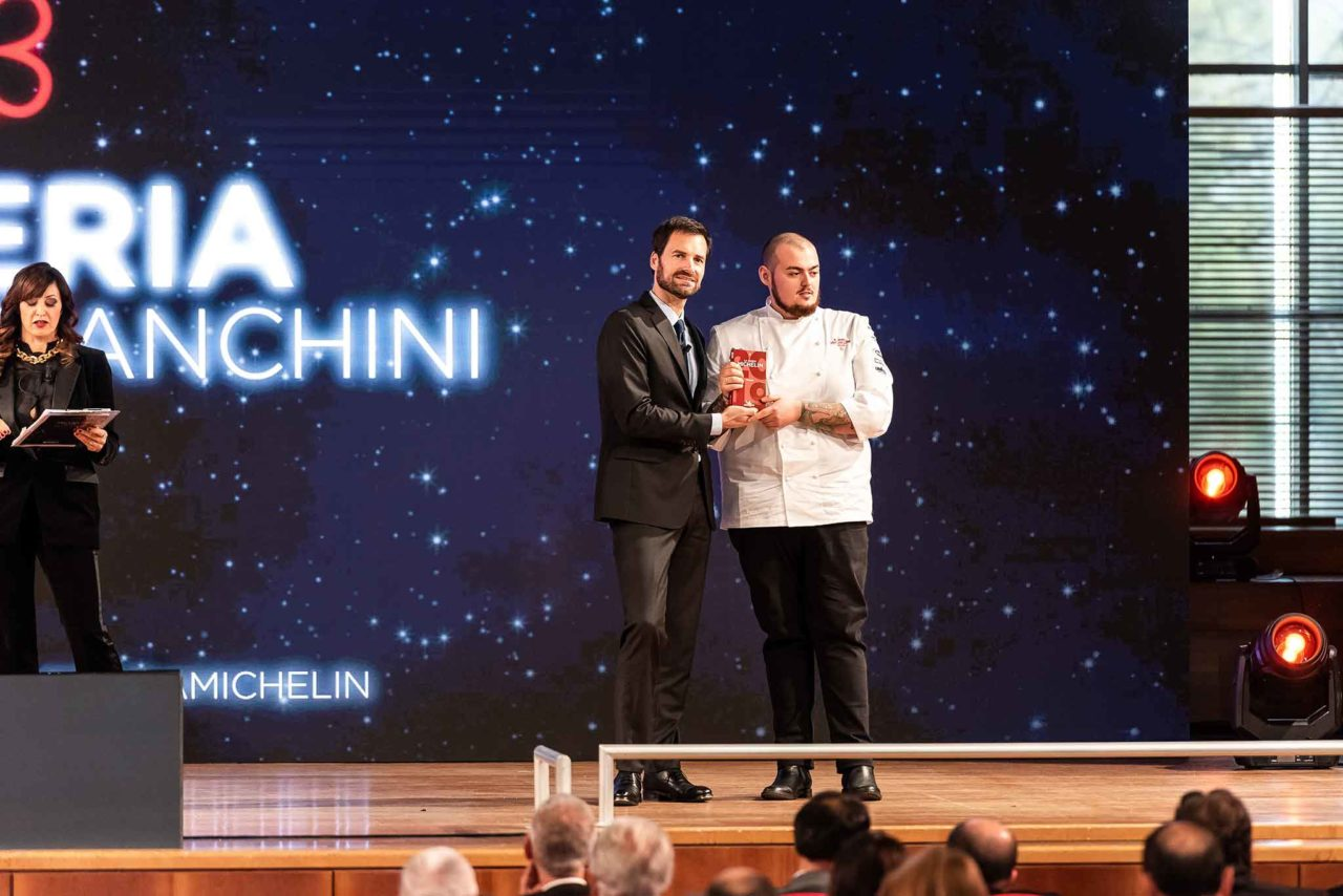 Chef davide caranchini materia cernobbio riceve la prima stella micheiln 2020
