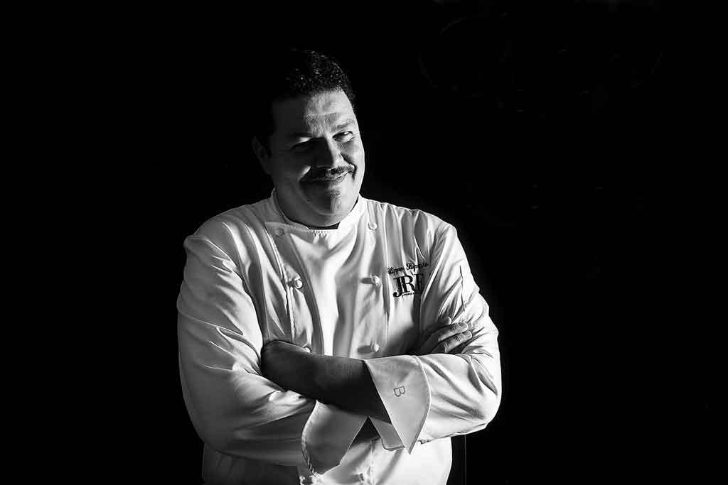 Filippo Saporito chef del ristorante stellato La Laeggenda dei Frati di FIrenze