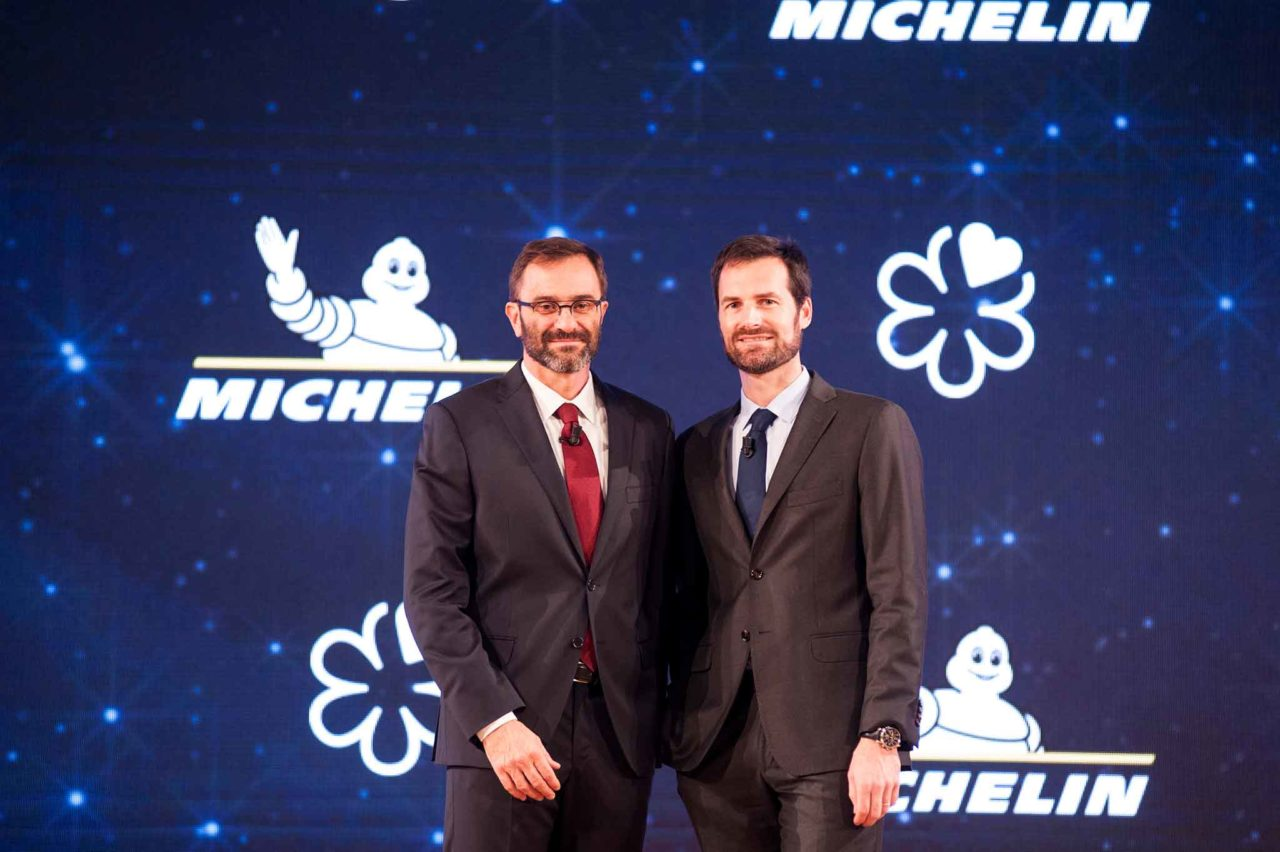 Marco Do e Gwendal Poullennec Guida Michelin