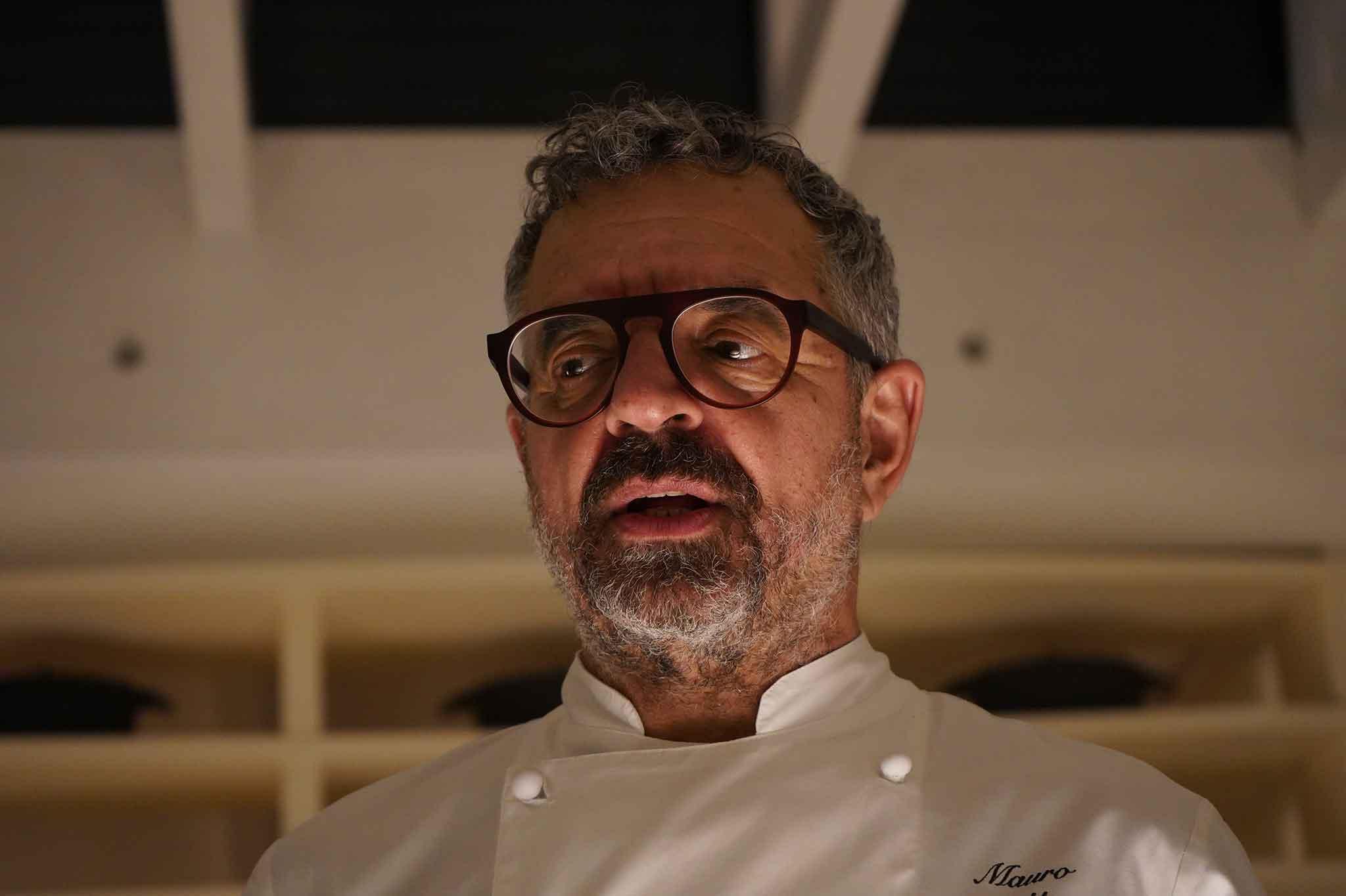 Mauro Uliassi chef 3 stelle michelin senigallia