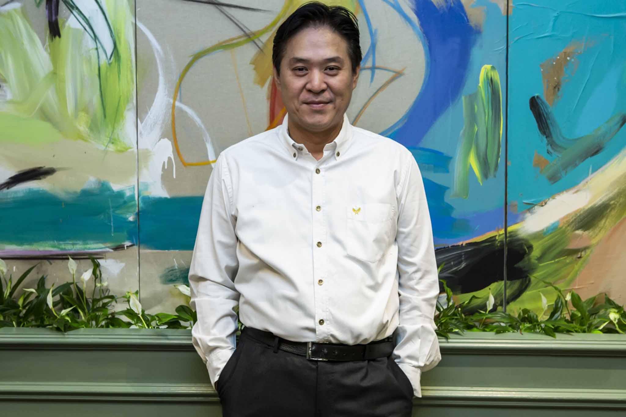 Mario Chen chef patron Berimbau