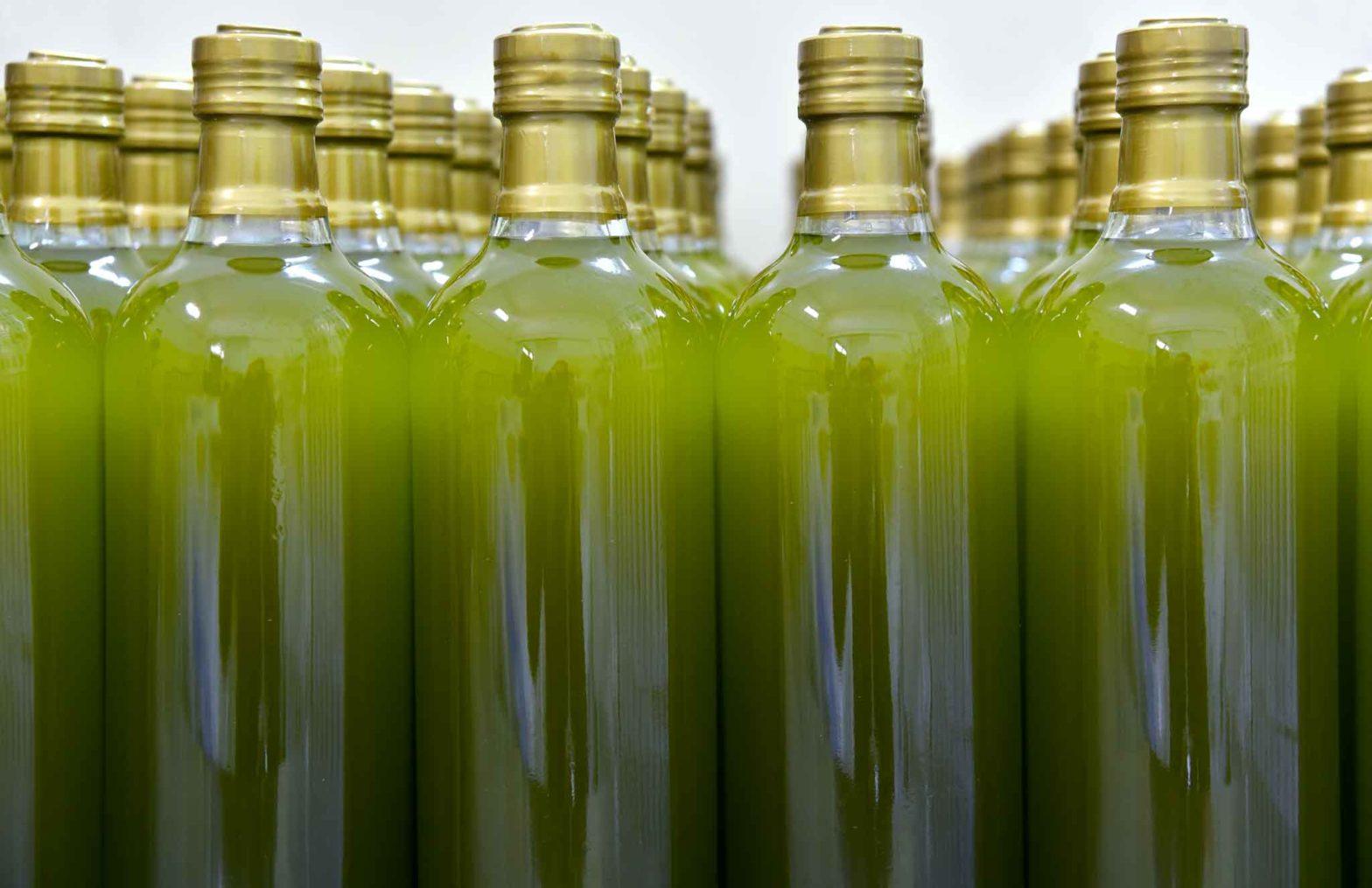 Olio extravergine bottiglie