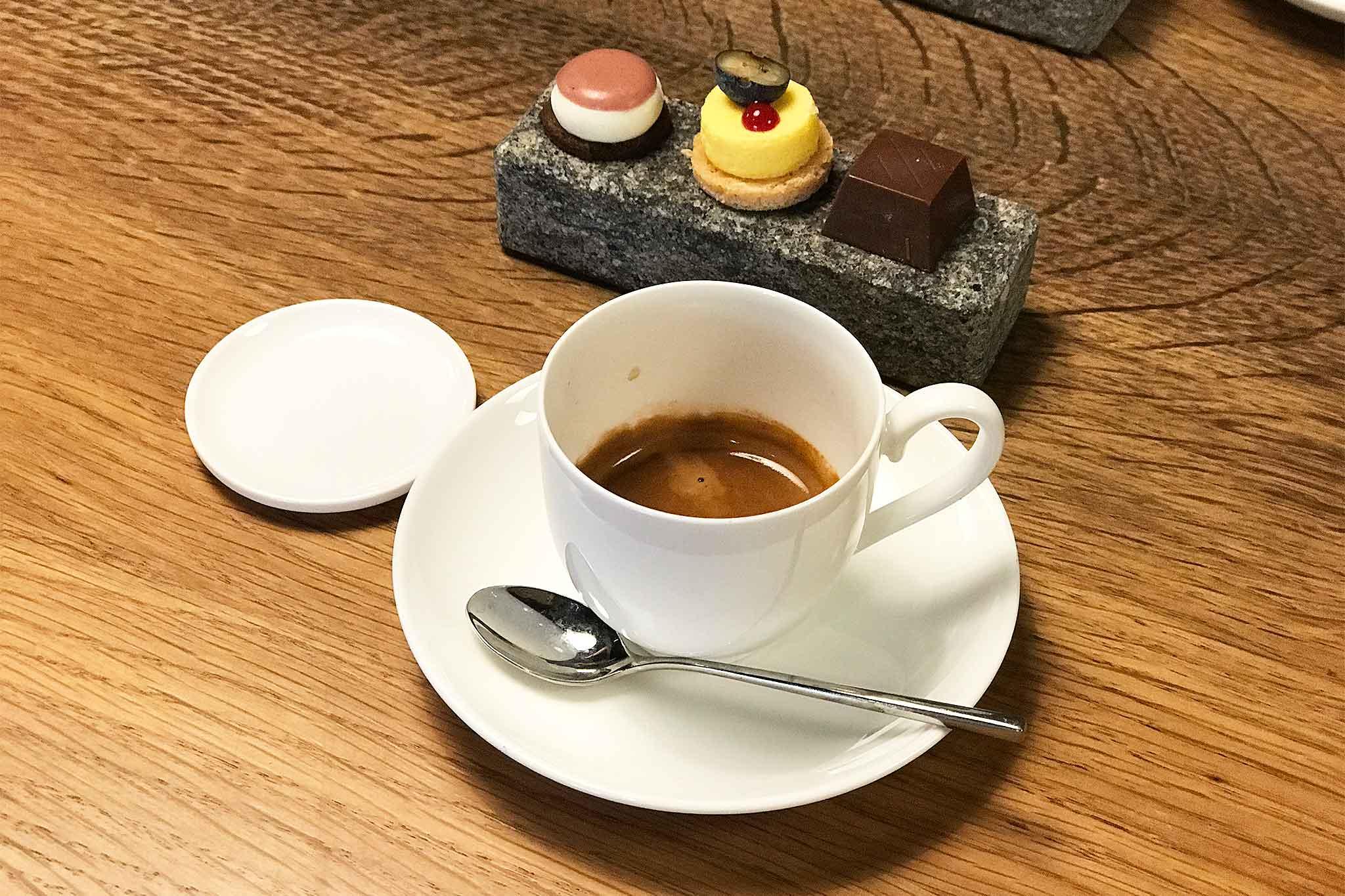 Tavolo da bistrot//bar//colazione set da 3 pezzi Espresso Basics