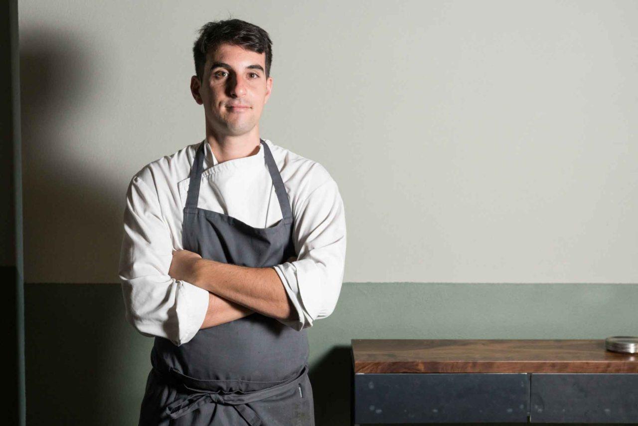 Antonio Ziantoni, chef dello Zia Restaurant a Roma