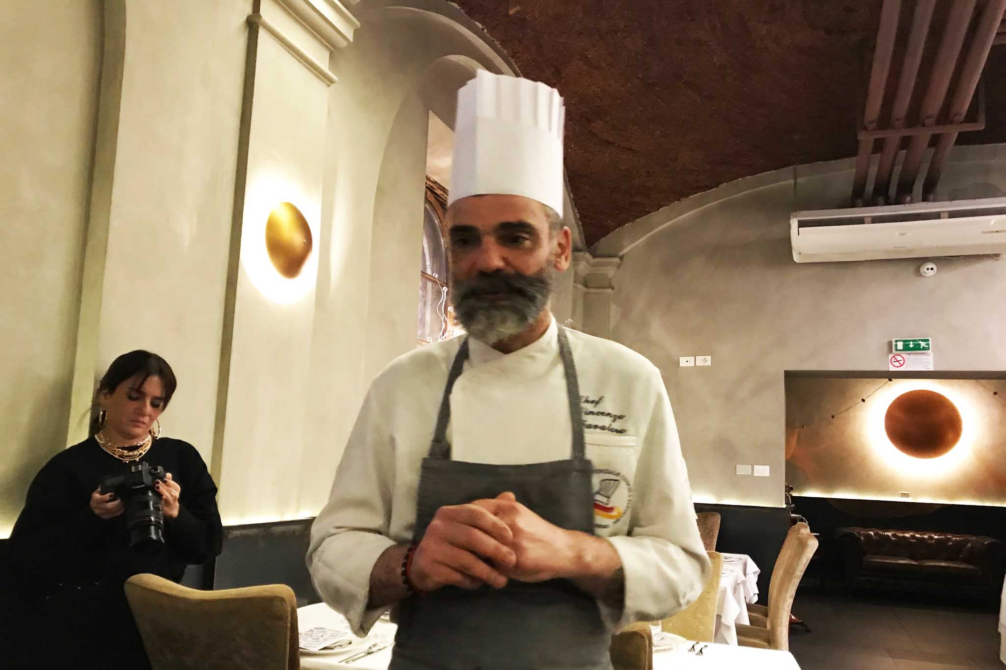 chef Vincenzo Favaloro