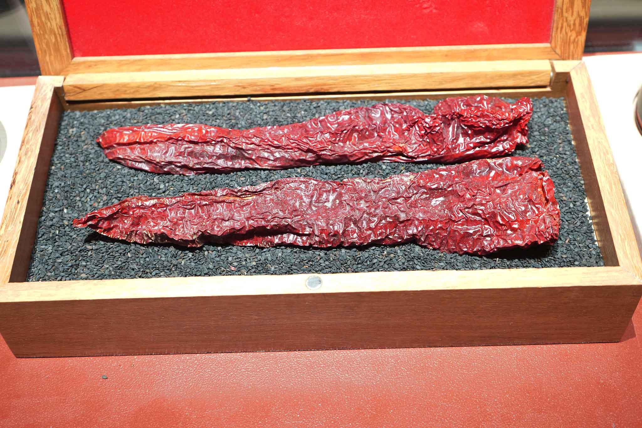 produttori del Cilento: peperoni cruschi