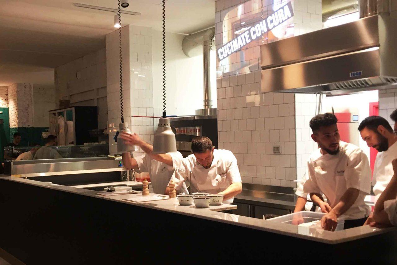 nuove pizzerie a Milano berberè centrale bancone forno elettrico