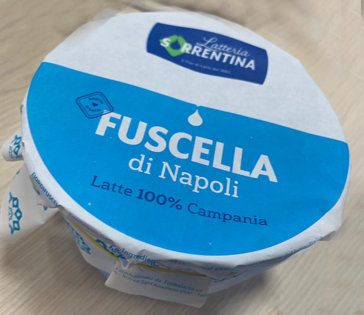 ricotta Fuscella di Napoli