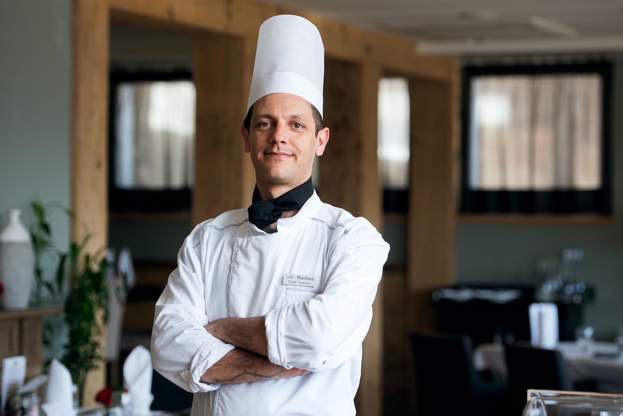 Roots ristorante didattico Les Roches Svizzera Matteo Salas