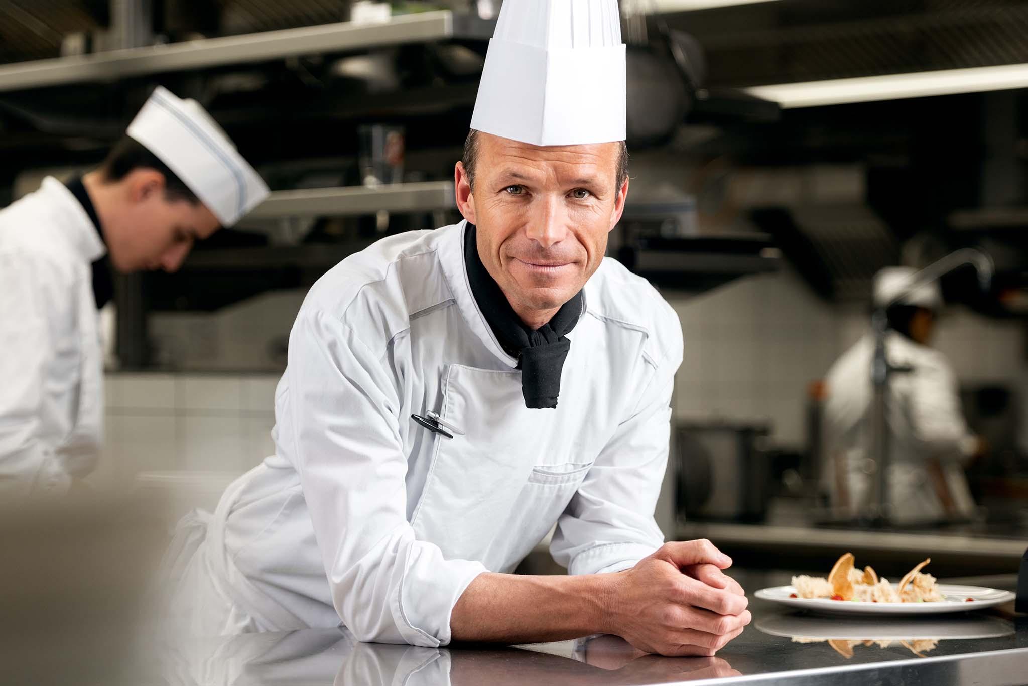 Roots ristorante didattico Les Roches Svizzera Samuel Huet