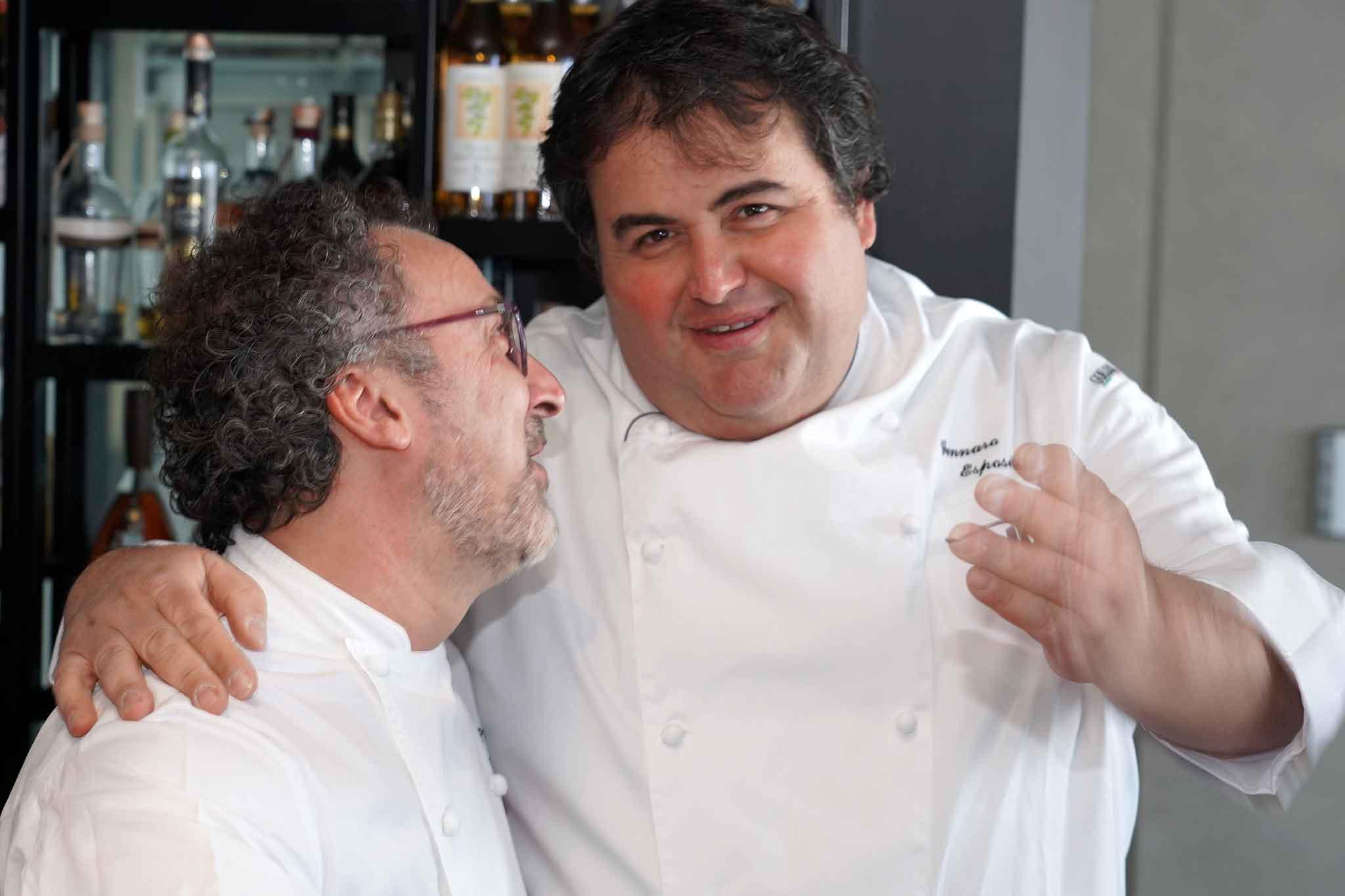 Gennaro Esposito e Lino Scarallo
