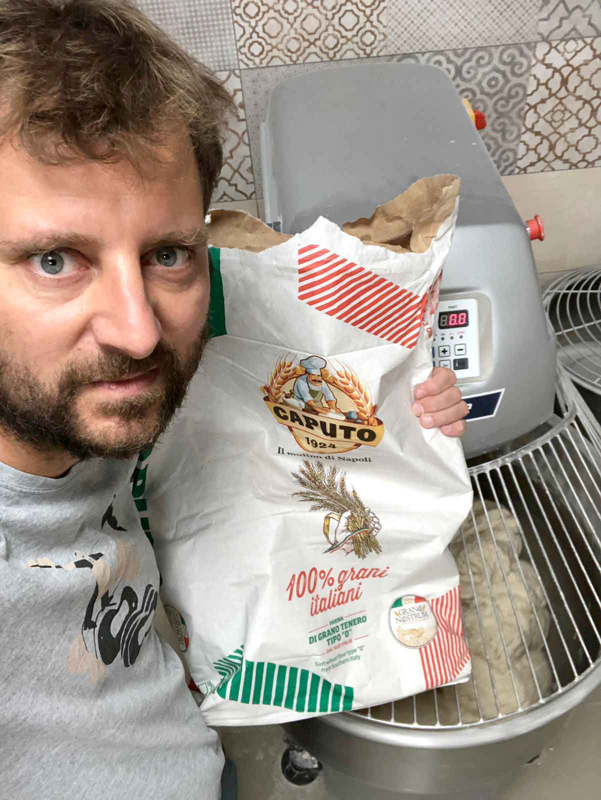 Paolo De Simone farina grani italiani