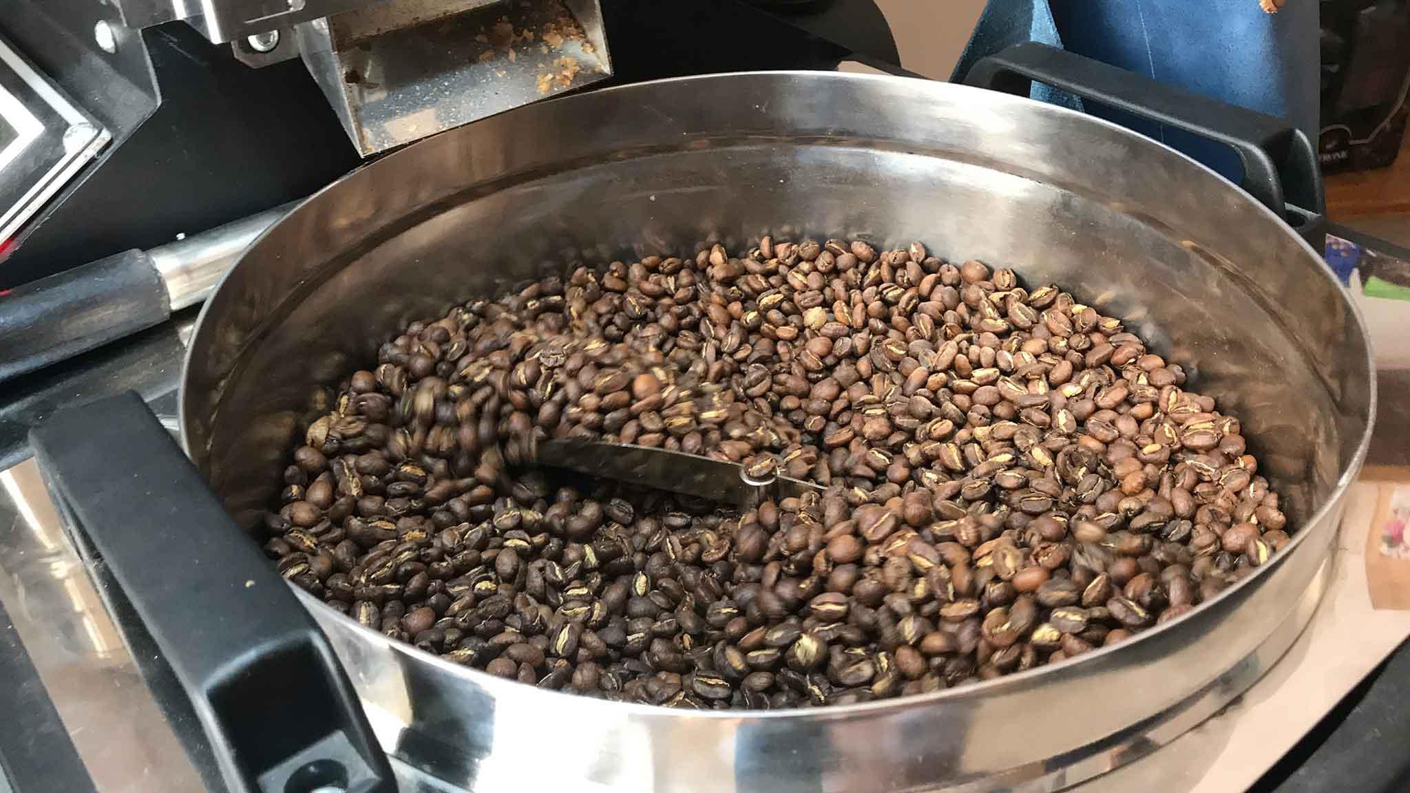 marmellata di chicchi di caffè verde
