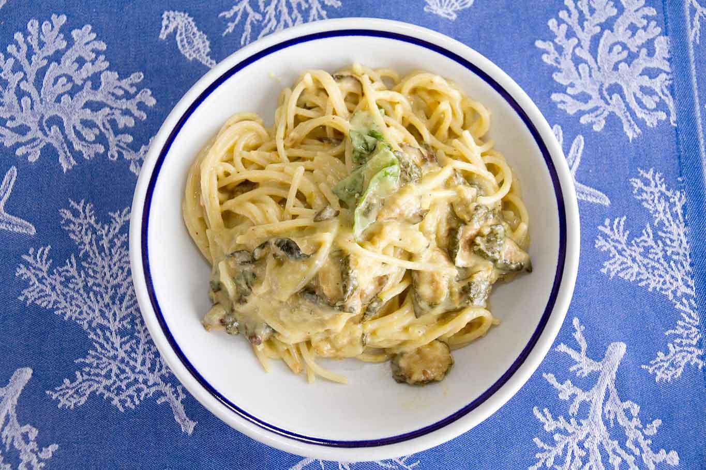 spaghetti alla Nerano ristorante Maria Grazia