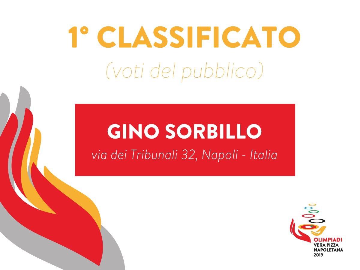 Gino Sorbillo vince Olimpiadi