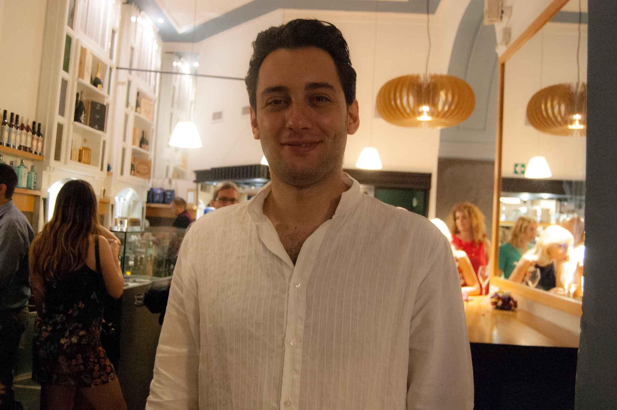 Alessio Tagliaferri Achilli Caffè Roma