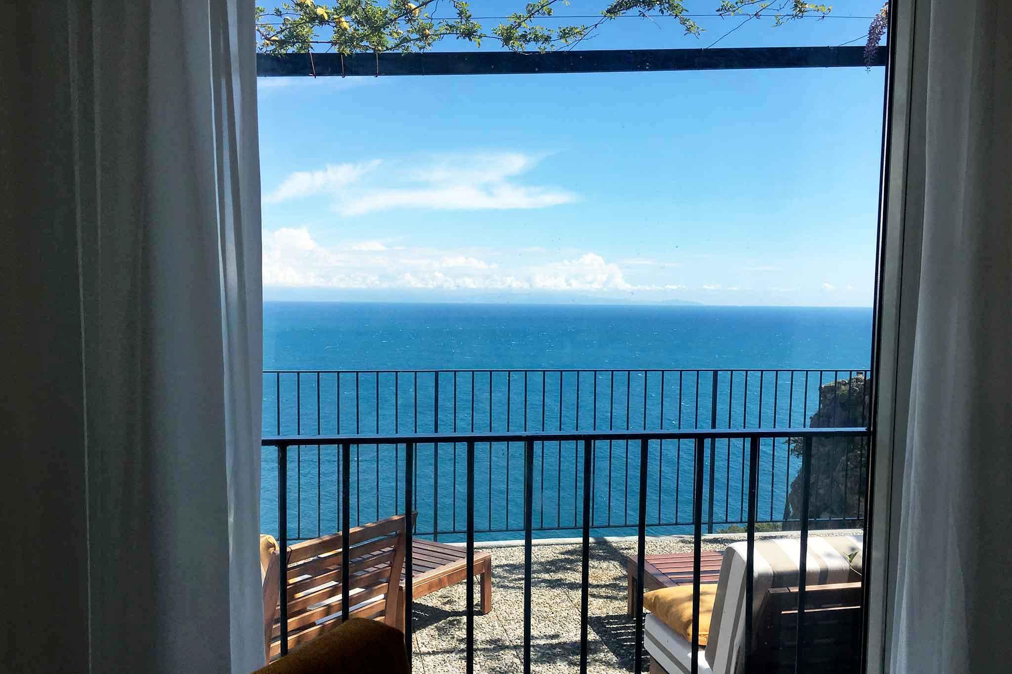 Ciccio ristorante Amalfi vista